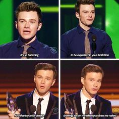 CHRIS COLFER IS THE BEST