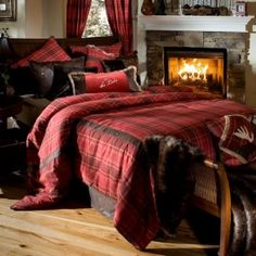 Various ideas for my bedding...can't decide between plaids or quilt-like designs