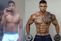 Wow an amazing transformation...he totally ripped.