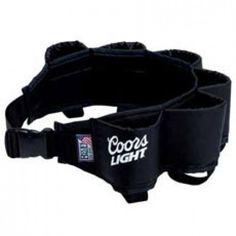 Coors Light Six Pack Beer Belt. Official from Coors Light!