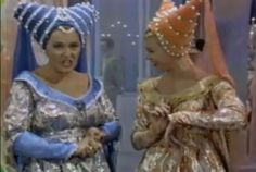 "The wicked step sisters from the 1965 TV version of Rogers and Hammerstein's ""Cinderella."""