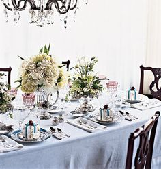 Beautiful formal Dinner Table Decorations