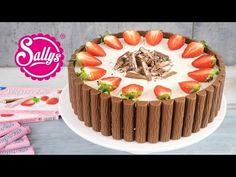 Yogurette-Torte / Erdbeer-Joghurt-Schokoladentorte - Sallys Blog