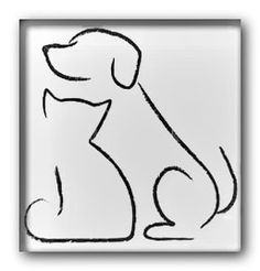 Dog outline - Daily Dog Buzz Dog Outline, Dogs, Fictional Characters, Art, Tattoos, Valentines Day Weddings, Sketches, Drawings, Art Background