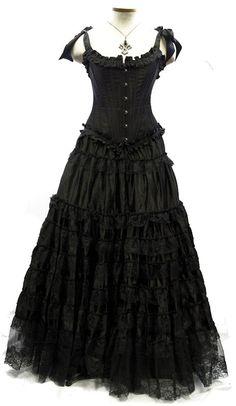 I'd love an all black ensemble