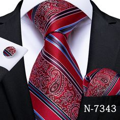 Mens Wedding Ties, Blue Suit Men, Black Suits, Mens Silk Ties, Cufflink Set, Tie Accessories, Tie And Pocket Square, Pocket Squares, Mens Fashion Suits