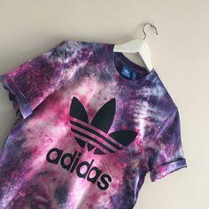 Unisex Authentic Adidas Originals Tie Dye Galaxy by SABAPPAREL