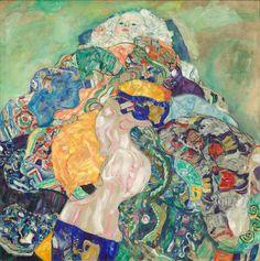 Gustav KlimtBaby (Cradle), 1917/1918