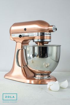Kitchenaid Custom Metallic Series 5 Qt. Tilt-Head Stand Mixer from Zola