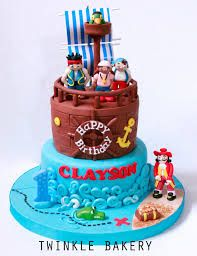 jake and the neverland pirates cake - Google Search