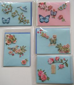 A 5 Pack of an Assortment  all occasion cards. on Etsy, $12.00