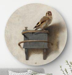 Wandcirkels, ofwel ronde schilderijen van oude meesters zijn de woontrend van nu! Deze muurcirkel is van het merk HIP ORGNL en gemaakt van luxe materiaal (hoogwaardig dibond). Hang hem als eyecatcher in de woonkamer, slaapkamer of hal. Bestel hier een origineel exemplaar met unieke grafische touch, uitsnede en signatuur. ✓Voor 12u besteld, is volgende werkdag in huis! ✓ Gratis verzending #oudemeesters #wanddecoraties #muurcirkels #wandcirkels #interieur #hiporgnl Classic Interior, Nature Animals, Bird Art, Old Houses, Colored Pencils, Home Accessories, Cool Pictures, Home And Garden, Interior Design