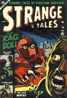 A cover gallery for the comic book Strange Tales Scary Comics, Horror Comics, Marvel Heroes, Marvel Comics, Comic Book Covers, Comic Books, Marvel Masterworks, Jim Steranko, Strange Tales