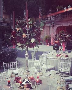 For an Indian wedding, red is one of the most used colours for the decorations because it means happiness and prosperity.  #destinationwedding #destinationweddingplanner #elenarenzi #luxury #luxurywedding #luxuryevent #luxuryvilla #luxuryvenue #villapizzo #cernobbio #lakecomo #italy #topdestinationsinitaly #centerpiece #flowers #red #roses #hydrangea #recepion #dinnerparty #romantic #beautiful #bride #groom #weddingday #justmarried #indianwedding #refinement #elegance