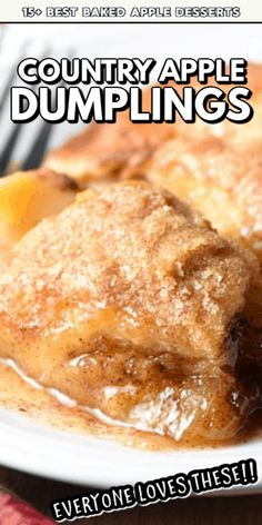 These Best Baked Apple Desserts are the perfect fall dessert to make for all of your holiday celebrations! With simple ingredients and delicious flavors, your friends and family are sure to ask for your recipe! Best Apple Recipes, Apple Cake Recipes, Baking Recipes, Sweet Recipes, Dessert Recipes, Fall Desserts, Just Desserts, Delicious Desserts, Baked Apple Dessert