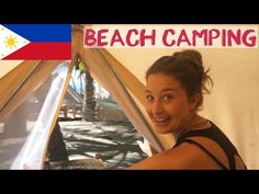(1063) Best Beach Camping Philippines | Empty Beach Siquijor - YouTube