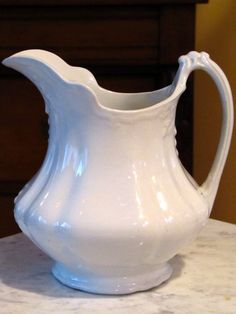 W.H. Grindley and Co. The Marquis Antique IRONSTONE pitcher Made in England