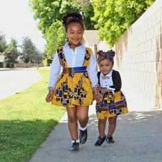 Key into the native fashion world by dressing kids up the African way. Here are the kiddies' Ankara styles your little divas should be rocking now;