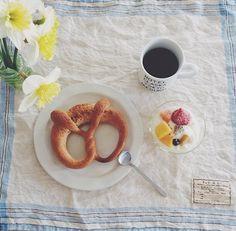 Pretzel ~ breakfast