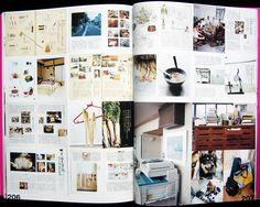 I like oganized collage effect.  Image result for secret sense of japanese magazine design
