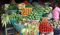 things to do in Bali - Bedugul traditional market, north Bali