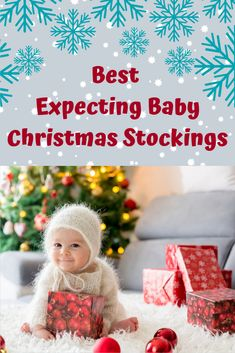 When Christmas comes you want to inlcude the new baby in your plans. Here you will find great expecting baby christmas stocking ideas for the new baby. Baby Christmas Stocking, Christmas Stockings, Gifts For Pregnant Wife, Stocking Ideas, Christmas Preparation, Expecting Baby, Cute Gifts, Nursery Decor, New Baby Products