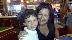 Luke with Noni. June 2012