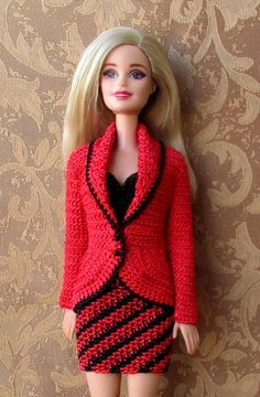 Dress and jaquet foe Barbie