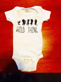 Where the Wild Things Are Maurice Sendak Inspired Baby Onesie on Etsy, $12.00