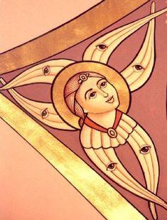 СЕРАФИМ фреска Seraphim.