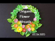 This video will show how to make origami wreath to decorate your room. Thank you for watching my video! Also check out some of my recent videos! Snowflake Origami, Easy Origami Star, Origami Wreath, Easy Origami Flower, Origami Flowers Tutorial, Origami Ornaments, How To Make Origami, Christmas Origami, Origami Easy
