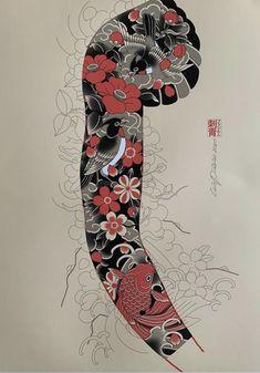 Traditional Japanese Tattoo Sleeve, Japanese Mask Tattoo, Tattoo Japanese Style, Japanese Tattoos For Men, Japanese Flower Tattoo, Japanese Tattoo Designs, Japanese Sleeve Tattoos, Full Sleeve Tattoo Design, Leg Sleeve Tattoo