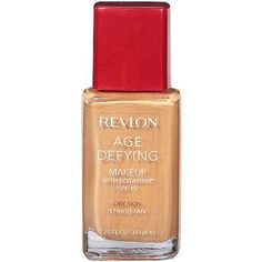 Revlon Age Defying Makeup with Botafirm, SPF 20, Normal/Combination Skin, Rich Tan 17, 1.25 Ounce, Beige