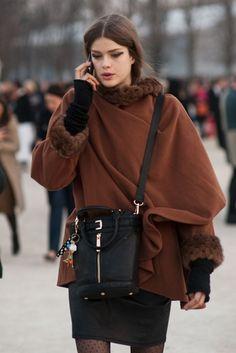 Wrap coat. TopShelfClothes.com