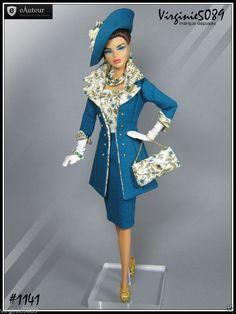 Tenue Outfit Accessoires Pour Barbie Silkstone Vintage Fashion Royalty 1141 | eBay