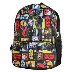 b610566e2fdf Disney Star Wars Classic All Over Print Kids Backpack 16 - CH128U2LD1B
