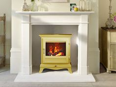 Suppliers and fitters of electric stoves and electric fires - Peak Fireplaces, Clay Cross, Chesterfield, Derbyshire Electric Stove Fire, Electric Fires, Flame Picture, Wood Burner Stove, Alcove Cabinets, Orange House, Real Wood, Home Appliances, Stoves