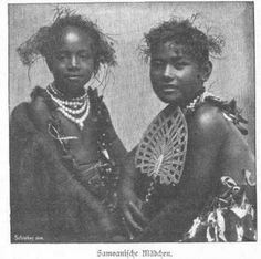 Autochthon Samoan girls #Indigenous #Black (Follow Pinterest: @sweetness)