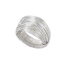 sterling silver wire wrap ring- Link takes you to the makers site bit I can't find the instructions.  Looks simple enough though