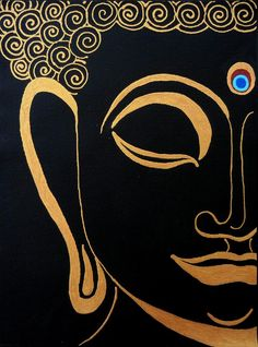 Buddha Iv Poster by Kruti Shah. All posters are professionally printed, packaged, and shipped within 3 - 4 business days. Choose from multiple sizes and hundreds of frame and mat options. Budha Painting, Ganesha Painting, Madhubani Painting, Mural Painting, Diy Painting, Fabric Canvas Art, Diy Canvas Art, Little Buddha, Buddha Art