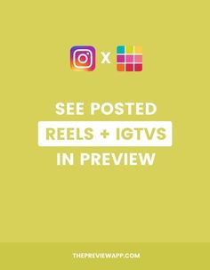 Your posted Instagram Reels and IGTV videos missing in your Instagram feed in Preview App? Here's how to load them to plan your feed. #instagramtips #instagramstrategy #instagrammarketing #socialmedia #socialmediatips