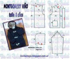 KiVita MoYo: MONTGOMERY INFANTIL - talle 8 años