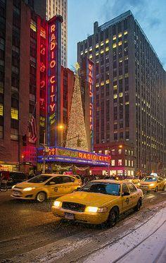 Christmas in Radio City Music Hall, NYC