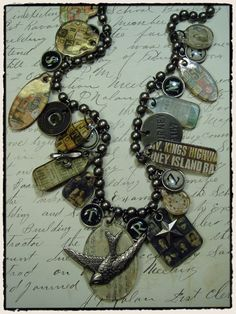 Cute, quirky necklace