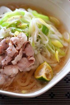 ネギ豚しゃぶしゃぶうどん。 by 栁川かおり   レシピサイト「Nadia   ナディア」プロの料理を無料で検索