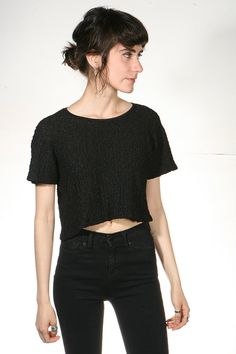 victorian CROP TOP 90s fashion lace sheer blouse by thesaltonsea, $25.00