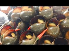 ASIAN STREET FOOD | Khmer Food - Delicious Snail, Rice & Pork, VILLAGE F...