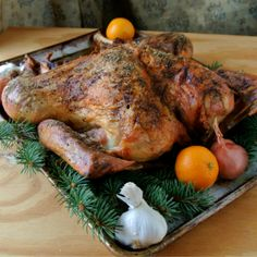 Turkey brining secrets with alton brown from good eats on food alton browns butterflied dry brined turkey forumfinder Choice Image