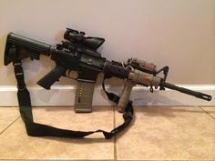 Airsoft Guns, Weapons Guns, Guns And Ammo, M4 Carbine, Battle Rifle, Custom Guns, Survival Equipment, Hunting Rifles, Cool Guns