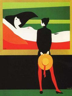 Amleto Dalla Costa, Italian Pop Art artist, keywords: Italy, Milano, Pop Art